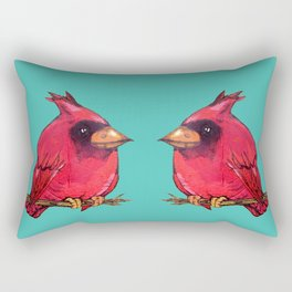 L'il Lard Butt Cardinal Rectangular Pillow