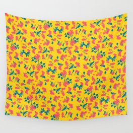 Floral Pattern 1 Wall Tapestry