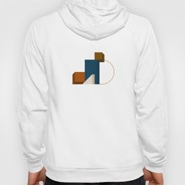 Abstrato 02 // Abstract Geometry Minimalist Illustration Hoody