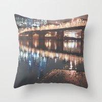 portland Throw Pillows featuring Portland by Tasha Marie