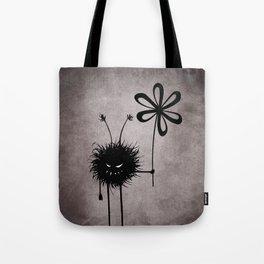 Evil Flower Bug Tote Bag