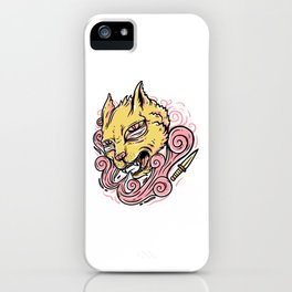 Cat Head iPhone Case