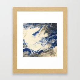 Cloudbank Trot Framed Art Print