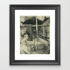 The Lottery Framed Art Print