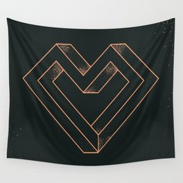 le coeur impossible (nº 6) Wall Tapestry