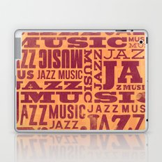 Jazz Poster Laptop & iPad Skin