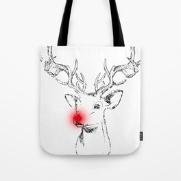 Rudolph and his red nose Tote Bag