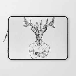 bambi's a grown up now  Black Laptop Sleeve