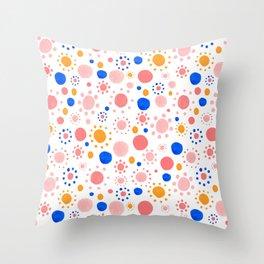 Dots Pattern Throw Pillow