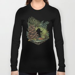Tiny Sasquatch Long Sleeve T-shirt