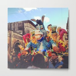 Carnivale! Metal Print
