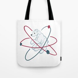 Polar (Bear) molecule Tote Bag