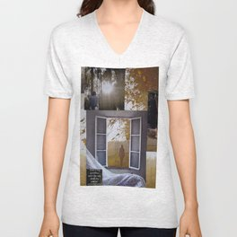 Collage - Drink the Wild Air Unisex V-Neck