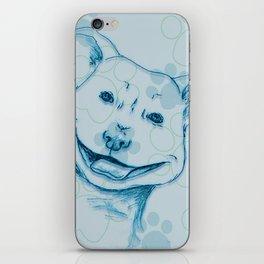 Happy PitBull iPhone Skin