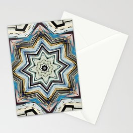 Eight Points of Texture Stationery Cards