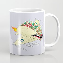 Taco Fighter Jet Coffee Mug