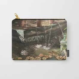Andalusian garden of the house of the painter Sorolla in Madrid Carry-All Pouch