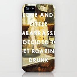 The Absinthe Drinker (1859), Édouard Manet // The Great Gatsby (2013), Baz Luhrmann iPhone Case