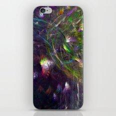 Black Peacocks iPhone & iPod Skin