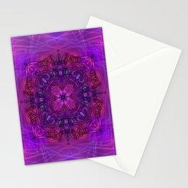 Peaceful Plum (Mandala)  Stationery Cards