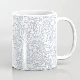 Folk Leaves Coffee Mug