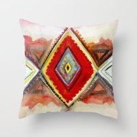 kilim Throw Pillows featuring Kilim by Fitz Farm