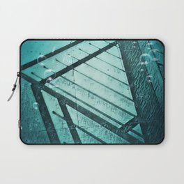 Paving Slabs and Railings. Laptop Sleeve