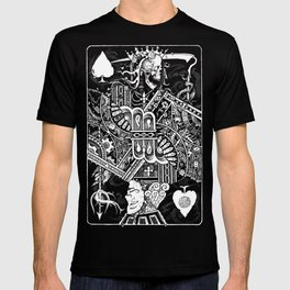 Death & Devil - Jack of Spades Card - The wages of sin is death (for Vito) T-shirt