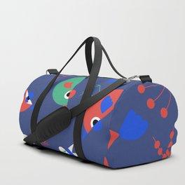 Geometric Birdies Duffle Bag