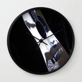 Solo guitar mood Wall Clock