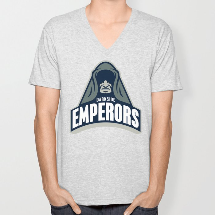 DarkSide Emperors -Blue Unisex V-Neck