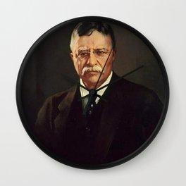 Theodore Roosevelt Wall Clock