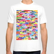 New Markers Mens Fitted Tee White MEDIUM