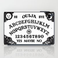 ouija iPad Cases featuring Ouija Board by Mobii