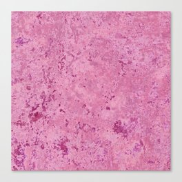 pink marble Canvas Print