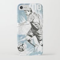 messi iPhone & iPod Cases featuring Lionel Messi by Renato Cunha