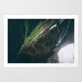 drip Art Print