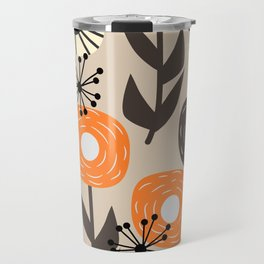 Some happy flowers Travel Mug