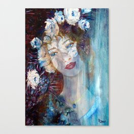 A Scent of Romance Canvas Print