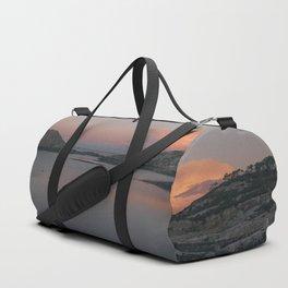 Sunrise in Norway Duffle Bag