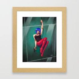 Motoko Kusanagi Pinup (Arise) Framed Art Print
