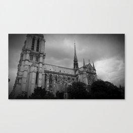 Notre-Dame Canvas Print