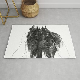 Untitled Portrait Rug