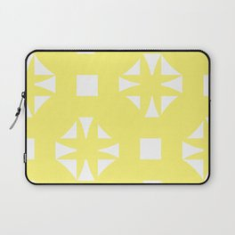 Butter Yellow Pattern One Laptop Sleeve