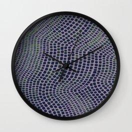 Shagreen Indigreen Wall Clock