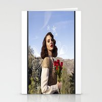 lana Stationery Cards featuring Lana by Claudia