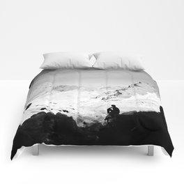 Snowy Isolation Comforters