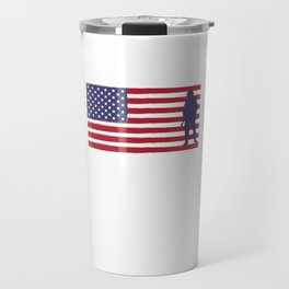 I'm Proud of My Veteran Grandpa Patriotic Travel Mug