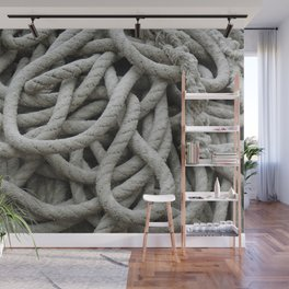 a skein of fishing rope    Wall Mural