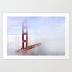 Heavenly Gates Art Print